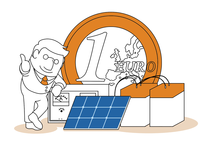 photovoltaik kosten wie verteilen sich die kosten. Black Bedroom Furniture Sets. Home Design Ideas