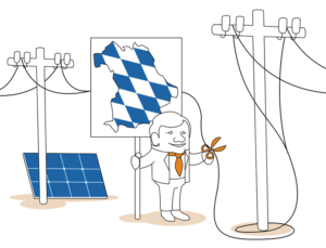 Die Bayern sind gegen die Stromtrassen