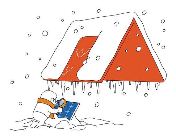Photovoltaik: Schneelast mitberücksichtigen